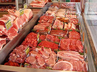 Barret Brothers Meat Counter